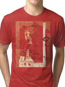 red dress Tri-blend T-Shirt