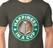 Happiness in a Cup - Starbucks Unisex T-Shirt