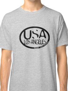 usa los angeles tshirt by rogers bros co Classic T-Shirt