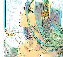 Fire Emblem if / Fates - Aqua / Azura by AlfredKamon