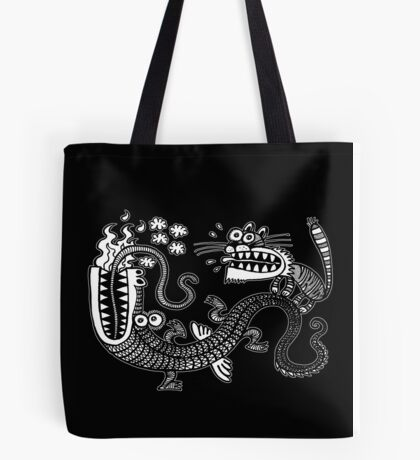 Tiger & Dragon Tote Bag