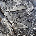 Ice Abstract by Lynda Lehmann