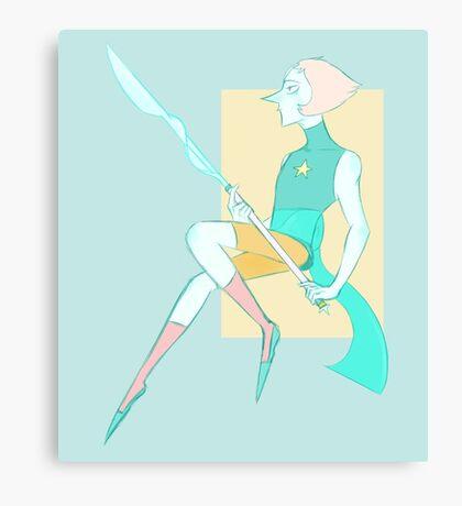 Spear Nerd Canvas Print