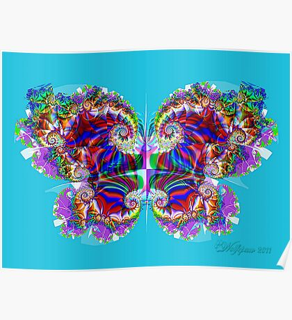 UF Butterfly Poster