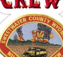 Wild Fire Crew Sticker