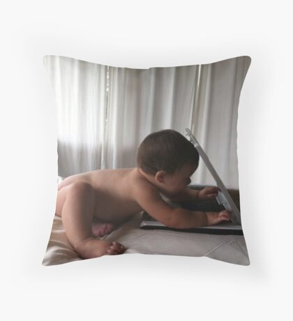 Hum...I like this thing Throw Pillow