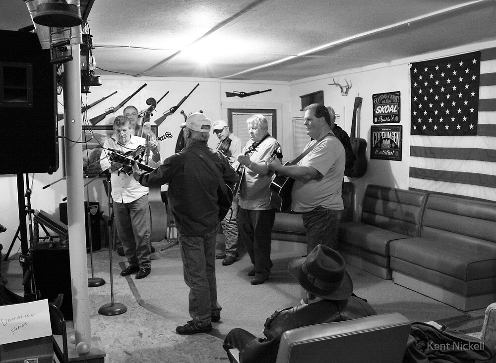 Tuesday Night at Carl and Norma's by Kent Nickell