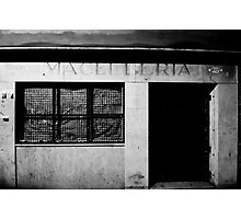 butcher Photographic Print