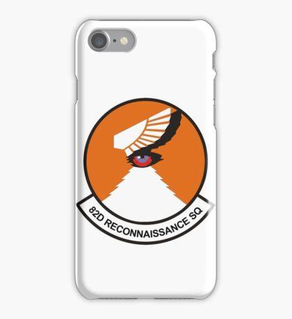 82d Reconnaissance Squadron iPhone Case/Skin