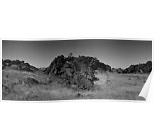 Lone Sentinal Captian Jack's Stronghold, Lava Beds National Park Poster
