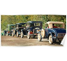 All 30-40's Fords Poster
