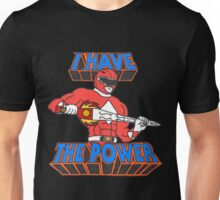 Power Rangers / He-Man 'I Have The Power' Unisex T-Shirt