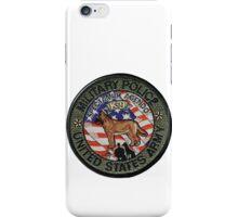 Army MP K9 iPhone Case/Skin