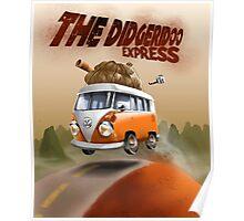 The Didgeridoo Express Poster