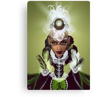 Lady Africa Canvas Print