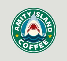 Amity Island Coffee (JAWS) - Starbucks Unisex T-Shirt