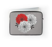 Big Pom Pom Blooming Flowers Laptop Sleeve