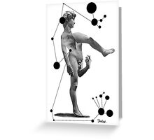 deconstructed david Greeting Card