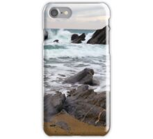 Silver Dollar Cove, Cornwall iPhone Case/Skin