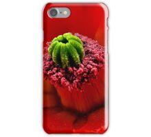Intense Red iPhone Case/Skin