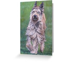 Berger Picard Fine Art Painting Greeting Card