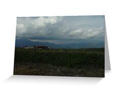 Chilean Landscape Greeting Card