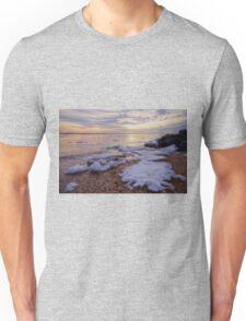 A Cold Sandy Hook Winter Unisex T-Shirt