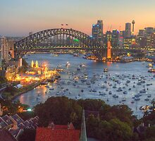 Glitter - Sydney Harbour, Sydney  Australia - The HDR Experience by Philip Johnson