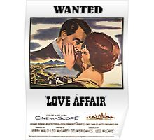WANTED Love Affair Poster