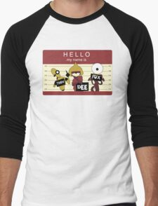 trendeefux: Hello my name is mugshot (cranberry) T-Shirt