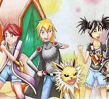 Pokemon OC Redraw by Fanmanga96