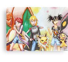 Pokemon OC Redraw Canvas Print