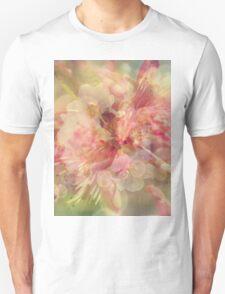 Peach blossom pattern Unisex T-Shirt