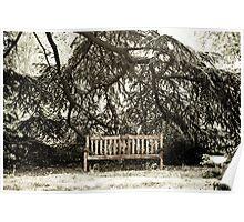 "Back in Times - Gardens ""In memoriam"" Poster"