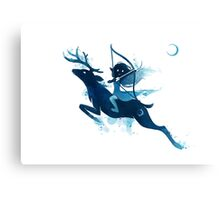 Elf Archer Canvas Print