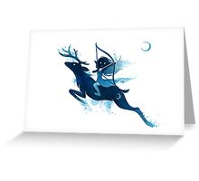 Elf Archer Greeting Card