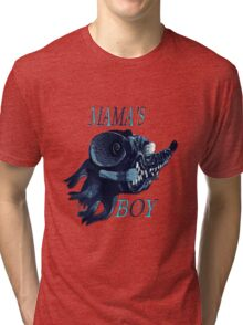 Mama's Boy Tri-blend T-Shirt
