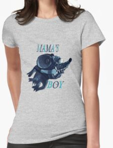 Mama's Boy Womens Fitted T-Shirt