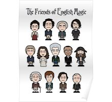 The Friends of English Magic (card/poster/notebook) Poster
