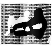 Kneebar Brazilian Jiu Jitsu MMA Mixed Martial Arts  Poster