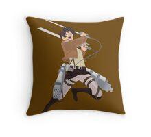 Eren Jaeger Throw Pillow