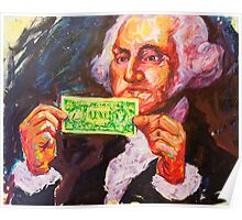 George with a dollar Poster