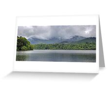 Showery June Day at Derwentwater Greeting Card