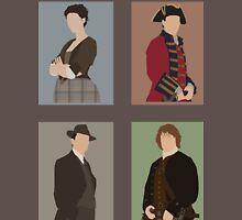 Outlander - Cast Mens V-Neck T-Shirt