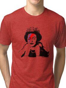 Reine Elizabeth Bansky Tri-blend T-Shirt