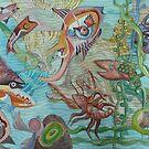 Vera, the Mermaid, Explores Kandinski Bay by Sally Sargent