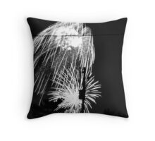 Firework 23 Throw Pillow