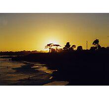 Halo Sunset Photographic Print