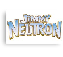 Jimmy Neutron Canvas Print