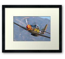 """""""Cadillac of the Sky!"""" Framed Print"""